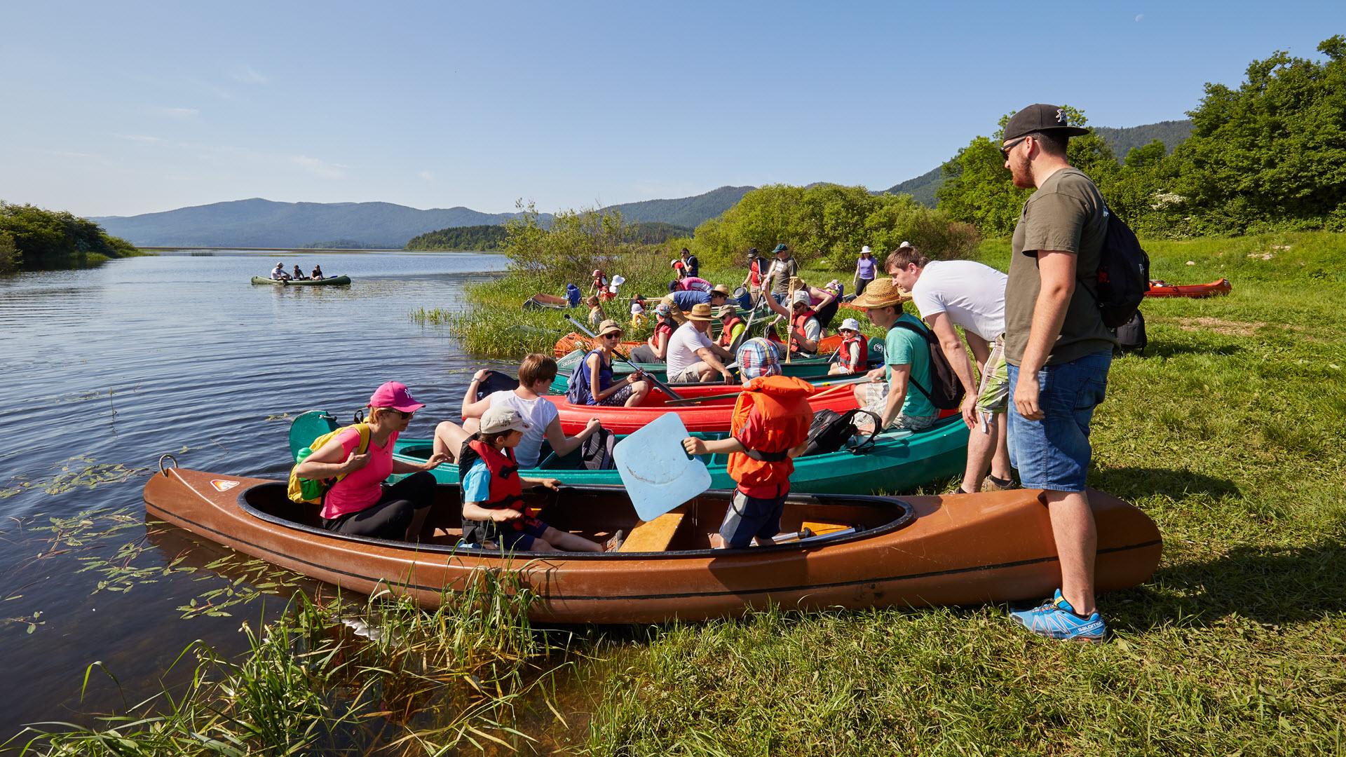 Cycling + Canoeing | Notranjska