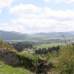 Pogled z Loškega gradu