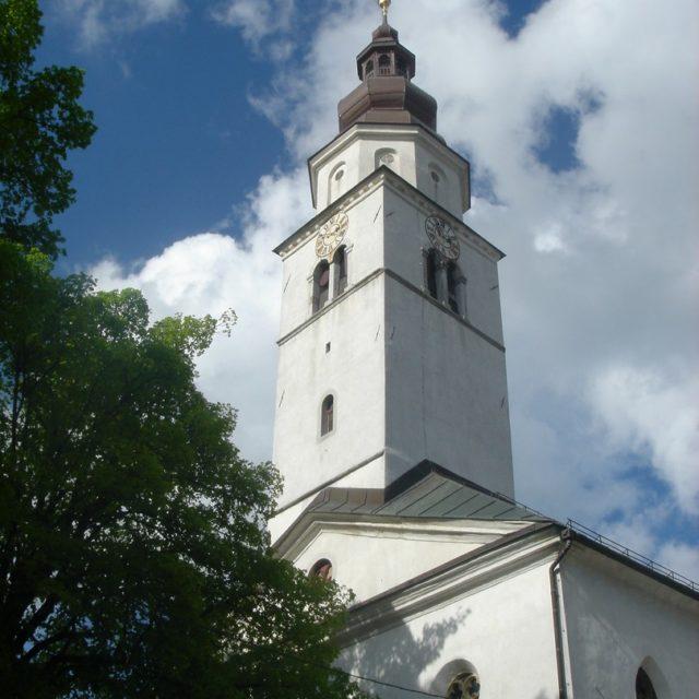Cerknica, tabor, cerkev Marijinega vnebovzetja