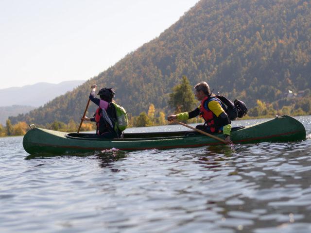 Escursione in canoa di 2 giorni
