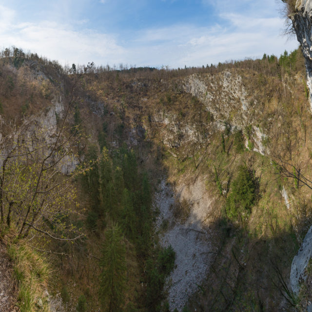 Die Doline Unška Koliševka