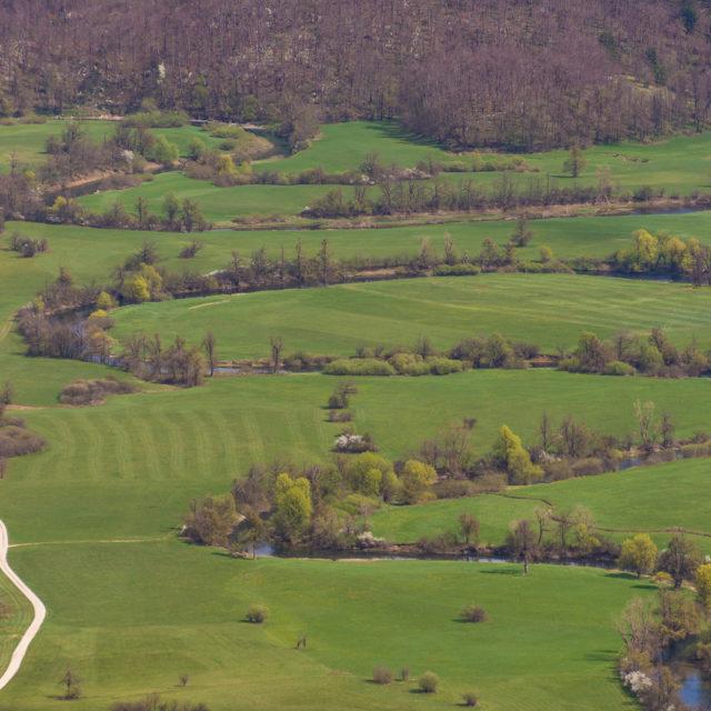 Planina und das Karstbecken Planinsko polje
