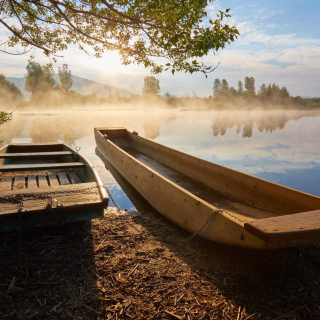 Der See Cerkniško jezero