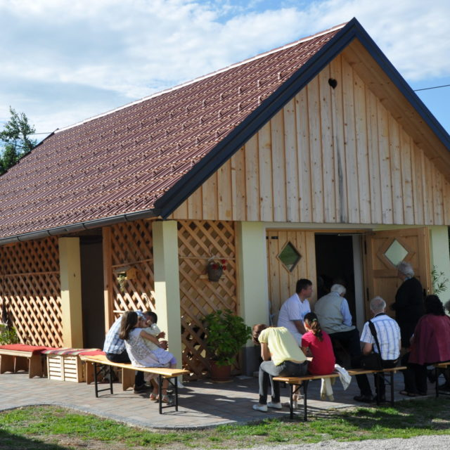 Das Dorf Babno Polje