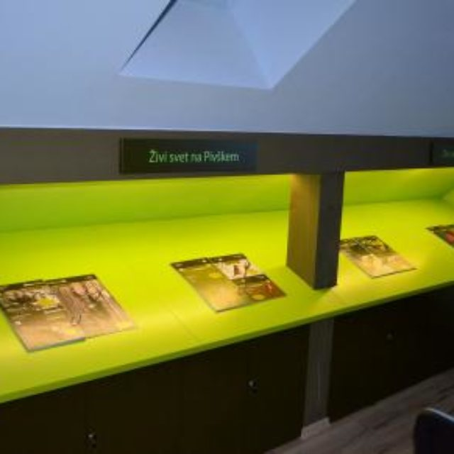 Museum der periodischen Seen in Pivka