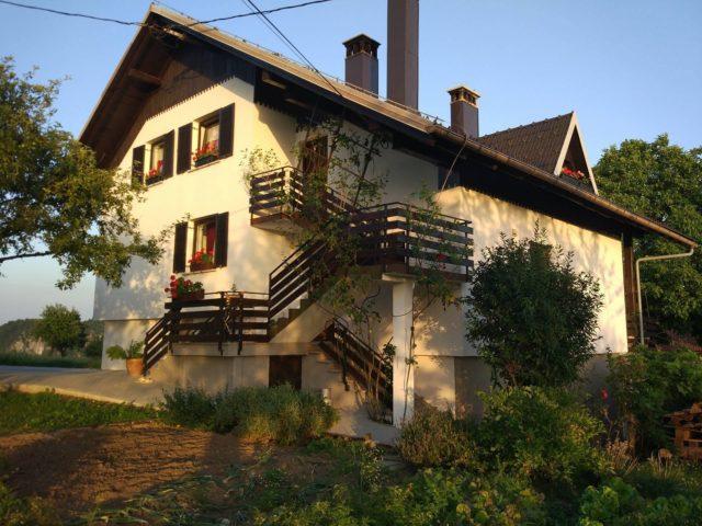Ferienbauernhof Strle in Osredek bei Sv. Vid