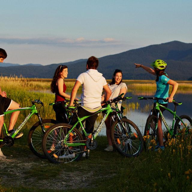 Mit dem Rad durch die Region Notranjska, 3 Tage