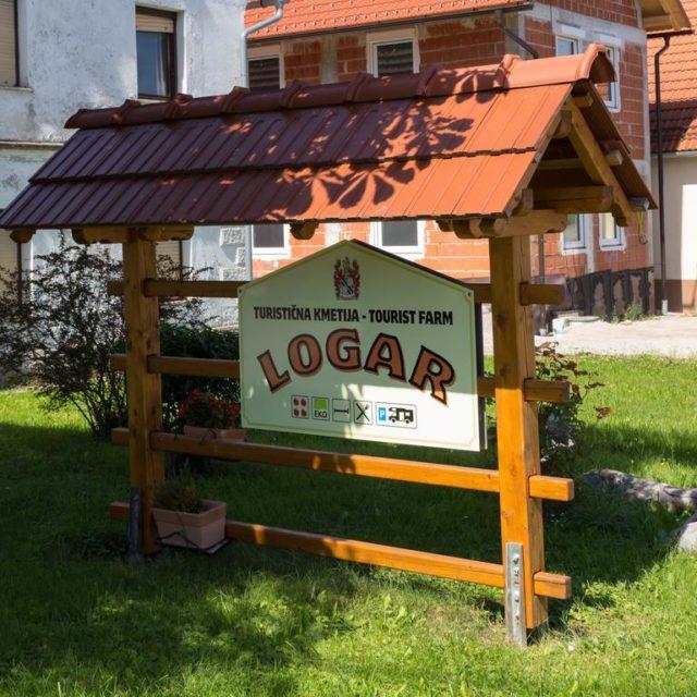 Ferienbauernhof Logar in Žerovnica