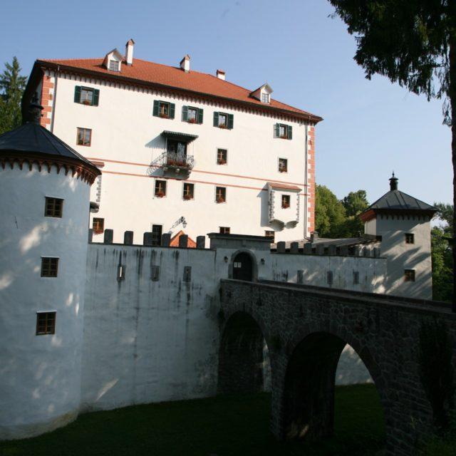 Das Schloss Snežnik