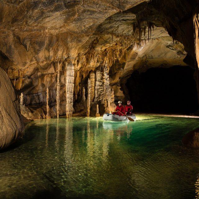 Die Höhle Križna jama